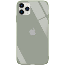 "TPU+Glass чехол GLOSSY Logo series для Apple iPhone 11 Pro Max (6.5"")"