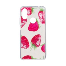 TPU Juicy Print for Xiaomi Redmi 7 Клубничка