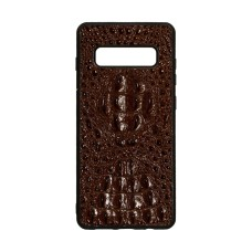 Задняя Накладка Genuine Leather Horsman for Samsung S10 Plus