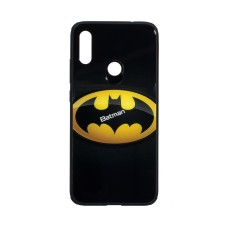 Силикон Case Original Glass Print for Xiaomi Redmi Note 7 Batman