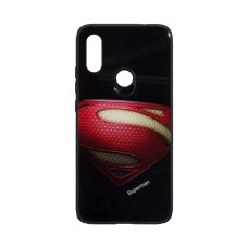 Силикон Case Original Glass Print for Xiaomi Redmi 7 Superman
