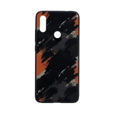 Силикон Case Original Glass Print for Xiaomi Redmi Note 7 Хаки