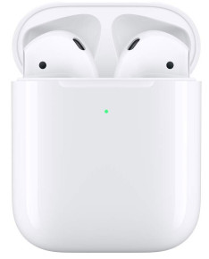 Наушники Apple AirPods 2019 (2 поколения) with Wireless Charging Case MRXJ2